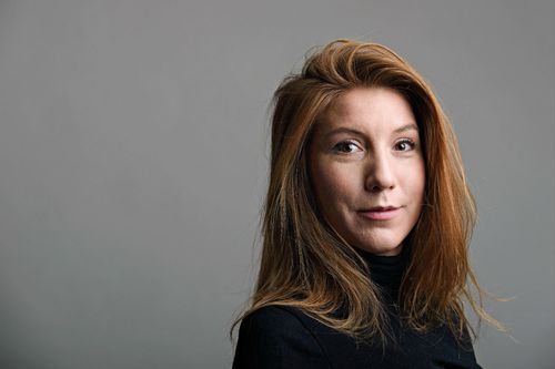 Kim Wall's torso was found dumped at sea. (AP)