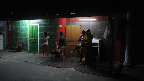Night scene in Manila's red light district. Photo: AFP