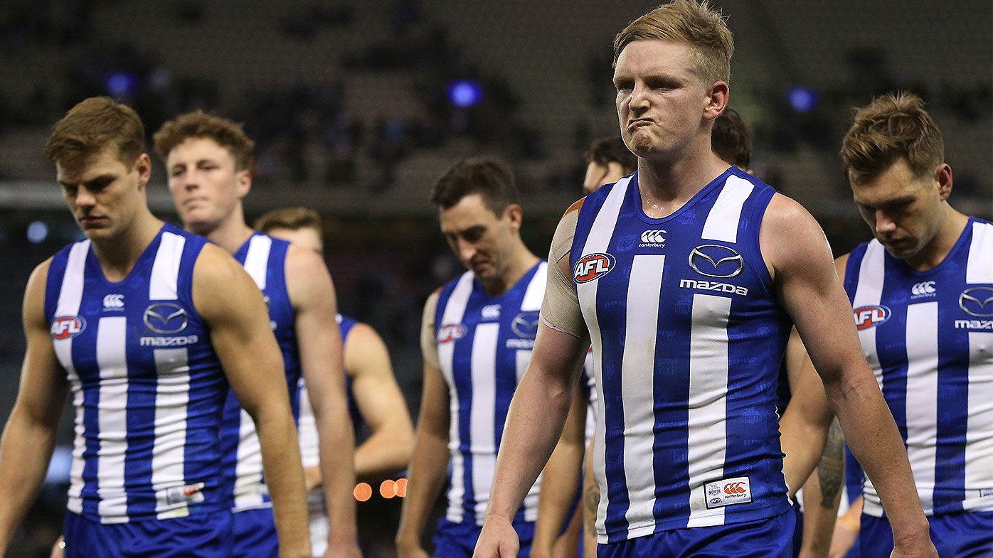 AFL power brokers in favour of relocating North Melbourne amid financial crisis