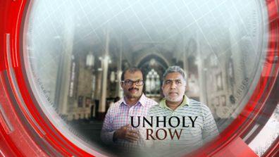 Unholy row