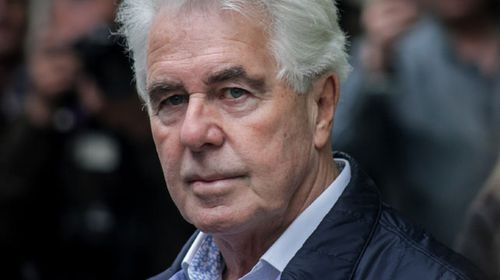 Britain's top public relations guru Max Clifford arrives at Southwark Crown Court in London. (AAP)