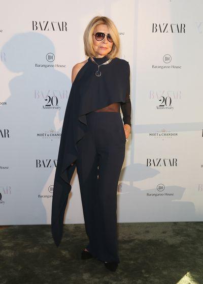 Fashion Designer Carla Zampattiat the Harper's Bazaar 20th anniversary party