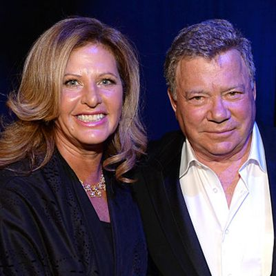 Elizabeth and William Shatner