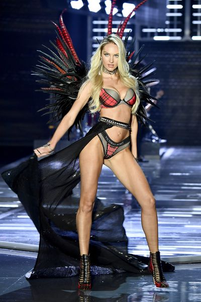"""<p>Along with being one of the world's most beautiful women,<a href=""""https://www.instagram.com/angelcandices/"""" target=""""_blank"""" draggable=""""false"""">Victoria's Secret angel Candice Swanepoel</a>can now add the title of being the most influential lingerie model on Instagram to her already packed resume.<br /> <br /> A yearly review conducted by<a href=""""https://www.bluebella.com/"""" target=""""_blank"""">lingerie company Bluebella</a>,has revealed that the South-African model's 11.8 million followers and average of 300,000 likes per post have earned her the number one spot on the list.</p> <p>As part of the current crop of VS angels, the pregnant mother-of-one has transformed her runway success to the digital world, with her reportedly able to earn up to $87,000 for a sponsored post.</p> <p>The blonde bombshell isn't the only model whose smalls have helped her reign supreme on social media. British model and former angel Rosie Huntington Whiteley and burlesque bombshell, Dita Von Teese, also made the top ten.</p> <p>Click through to see the lingerie models who are creating the most buzz on Instagram.</p>"""