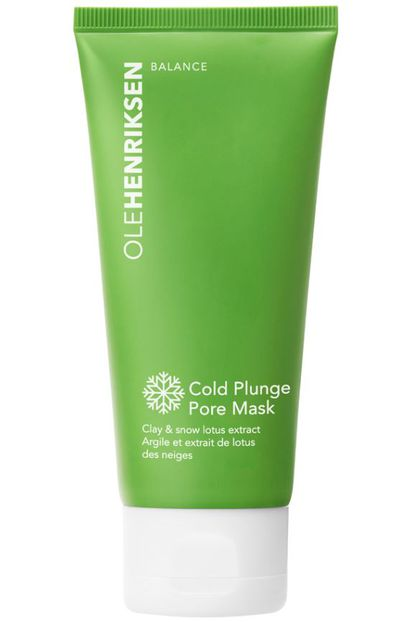 """<p><a href=""""https://www.sephora.com.au/products/ole-henriksen-cold-plunge-pore-mask/v/default"""" target=""""_blank"""" title=""""Ole Henriksen Cold Plunge Pore Mask, $48"""" draggable=""""false"""">Ole Henriksen Cold Plunge Pore Mask, $48</a></p> <p>A coolying clay mask to be used a few hours before applying make up to shrink the size of pores</p>"""