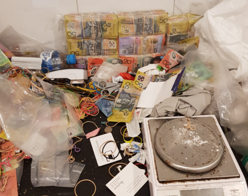 9NEWS understands the operation, dubbed Operation Quebec Yorker, was part of a wider investigation into a drug trafficking ring operating across Brisbane.