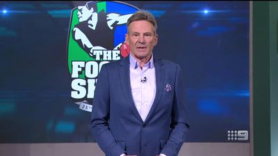 'Absolute TV genius': Sam Newman praised after emotional address to AFL Footy Show fans