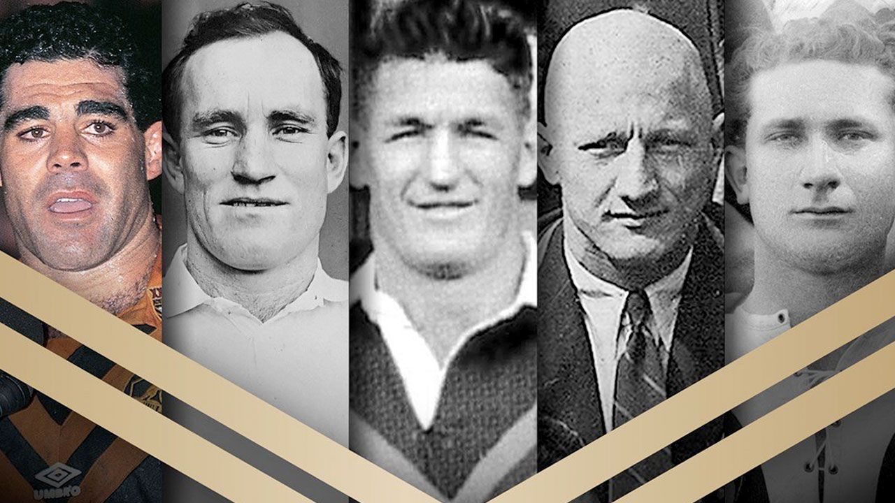 NRL announces Dally Messenger, Frank Burge, Dave Brown, Norm Provan and Mal Meninga as newest Immortals