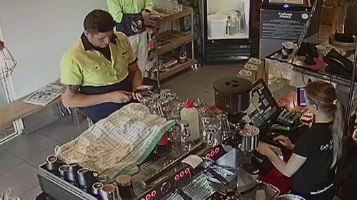 """The man """"knew how to operate the Eftpos machine."""