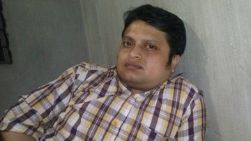 Ananta Bijoy Das was hacked to death near his home in the Bangladesh of Sylhet. (AAP)