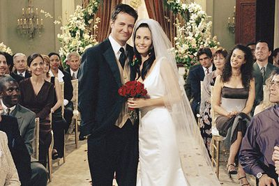 Monica and Chandler were the polar opposite of the Ross and Rachel relationship - (mostly) drama-free, ultra-supportive and perfect for each other.
