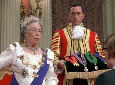 Portrayal of Queen Elizabeth in Austin Powers: Goldmember