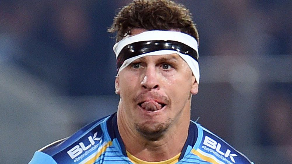 Former NRL player Greg Bird has starred for Catalans in the opening game of the Super League season. (AAP)