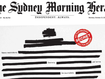 Sydney Mornign herald Front Page