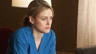 'Mercy' stars Taylor Schilling, who plays the role of nurse Veronica Agnes Flanagan Callahan.