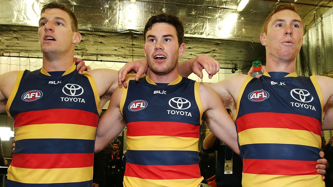 Adelaide Crows young star Mitch McGovern wants out of troubled club