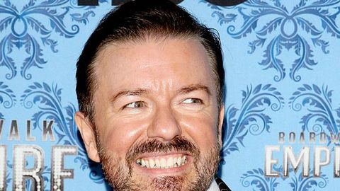 "Ricky Gervais in trouble for saying ""mong"" on Twitter"