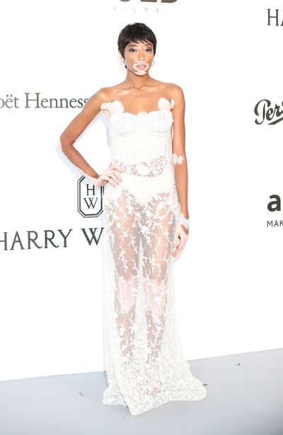 Winnie Harlow in Ashi Couture.