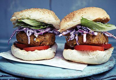 "<a href=""http://kitchen.nine.com.au/2016/05/05/09/57/anjum-anands-chickpea-burgers-with-indian-purple-coleslaw"" target=""_top"">Anjum's chickpea burgers with Indian purple coleslaw<br /> <br /> </a>"
