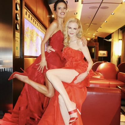 Nicole Kidman and Alessandra Ambrosio