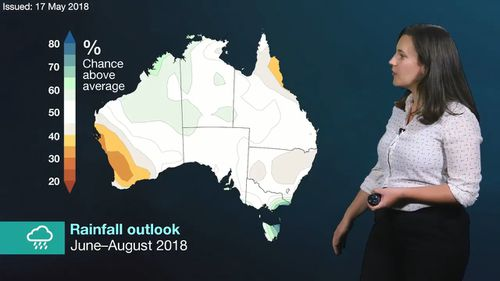 The weather bureau released its seasonal forecast this winter. (BoM)
