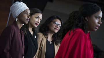 Ilhan Omar, Alexandria Ocasio-Cortez, Rashida Tlaib and Ayanna Pressley have responded to Donald Trump's racist tweets.
