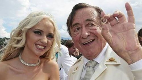 Austrian billionaire, 81, marries 24-year-old Playboy model