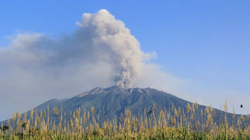 Virgin cancels all flights to and from Bali as ash cloud returns
