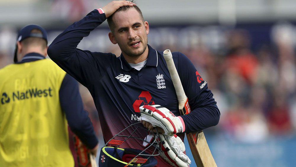 England cricket star Alex Hales serving suspension for drug use