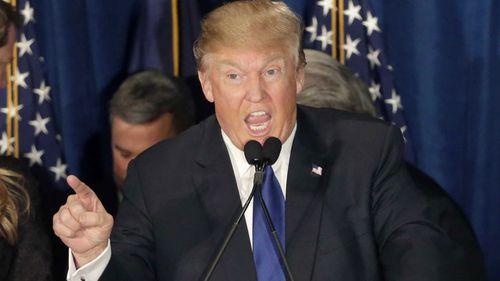 Donald Trump has won the Republican caucuses in Nevada. (AAP)