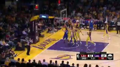 NBA: Australian centre Andrew Bogut makes his LA Lakers debut