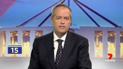 Opposition Leader Bill Shorten needs to be less scripted  (AAP Image/Seven Network)