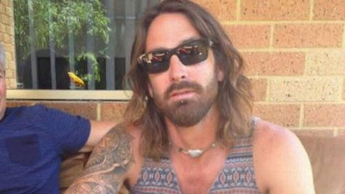 Ben French, 36, was flown home to Perth on Friday on a private Medivac flight with his mother by his side.