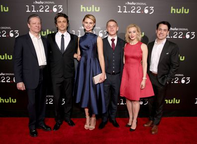 Chris Cooper, James Franco, Lucy Fry, Daniel Webber, Sarah Gadon and T.R Knight, '11.22.63' premiere
