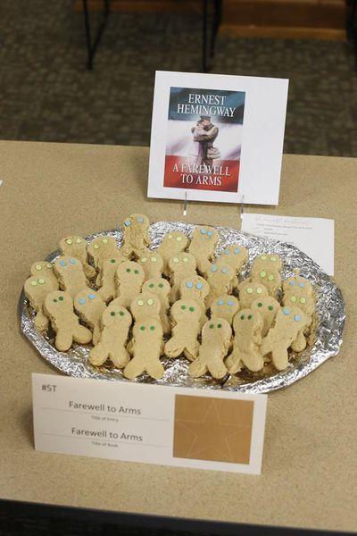 Hilarious entries in an edible book festival will delight