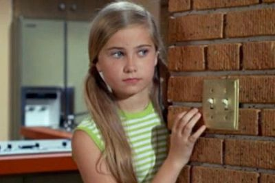 Maureen McCormick was 13 when she scored the role of the eldest daughter of six, Marcia Brady in <i>The Brady Bunch</i> TV series in 1969.<br/><br/>Image: <i>The Brady Bunch</i> / ABC