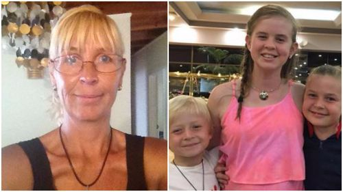 Stephanie King, daughter Ella Jane and son Jacob were killed in the crash. (Supplied)