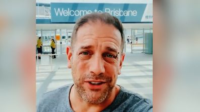 Human Nature's Toby Allen arrives in Brisbane ahead of the group's Queensland shows
