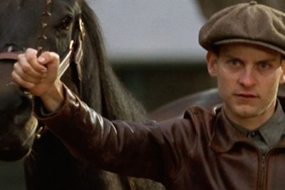 Tobey Maguire stars as jockey Red Pollard in this inspirational movie about the undersized racehorse, Seabiscuit, who brought the United States to its feet during the Great Depression. The film was nominated for seven Oscars, including Best Picture — it failed to win any, unfortunately.