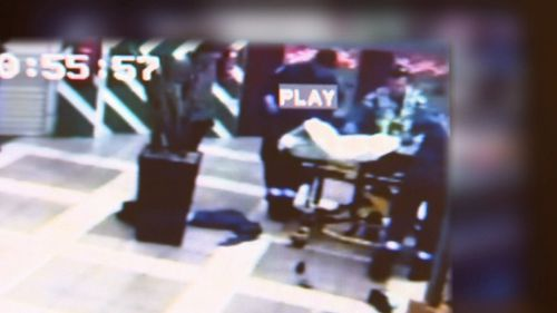 Police are asking anyone who recognises the man to come foward. Picture: 9NEWS