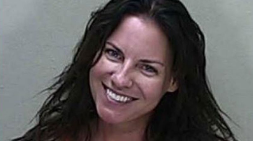 Angenette Welk's mugshot went viral for her beaming smile after being charged with manslaughter over the 2018 death of 60-year-old Sandra Clarkson.