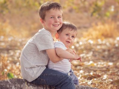 Koda and Hunter months were murdered by their father who shot them before driving off a pier.