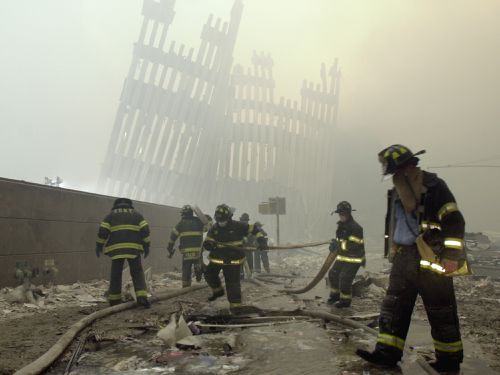 First responders are fighting for  families of the victims of the worst terror attack on the United States in history for compensation to continue.