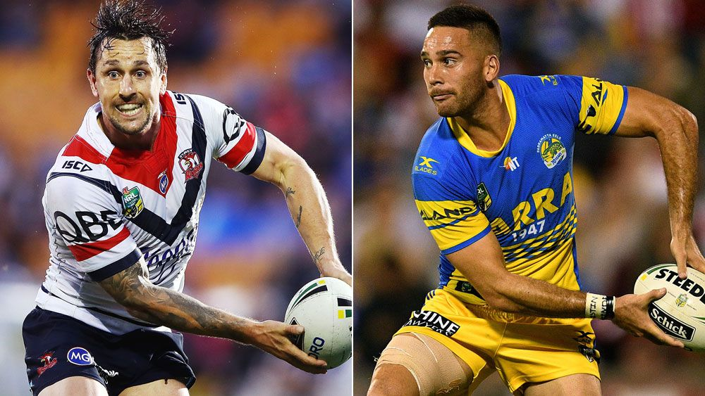 The Roosters face the Eels on Sunday. (Getty)