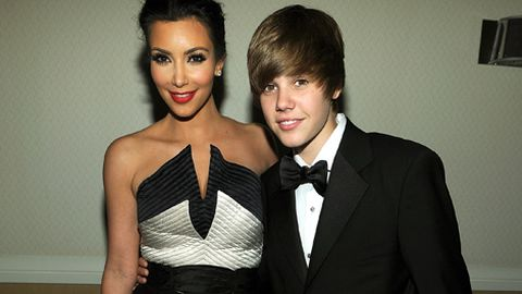 Justin Bieber, Kim Kardashian