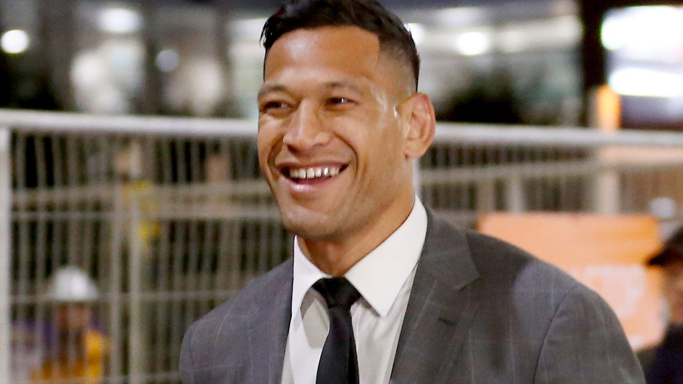 Israel Folau officially signs with Super League's Catalans Dragons
