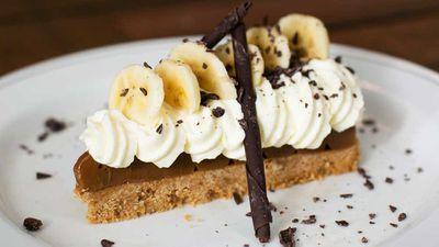 "Recipe: <a href=""https://kitchen.nine.com.au/2017/11/16/10/25/fratelli-fresh-banoffee-torta"" target=""_top"">Fratelli Fresh's banoffee torta</a>"