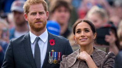 Prince Harry, Duke of Sussex and Meghan, Duchess of Sussex, visit New Zealand.