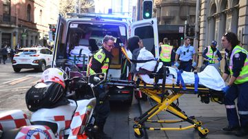 A 41-year-old woman was stabbed at the Hotel CBD in Sydney yesterday.