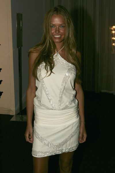 Lara Bingle at the David Jones Spring Summer Collections Launch in Sydney, August, 2004